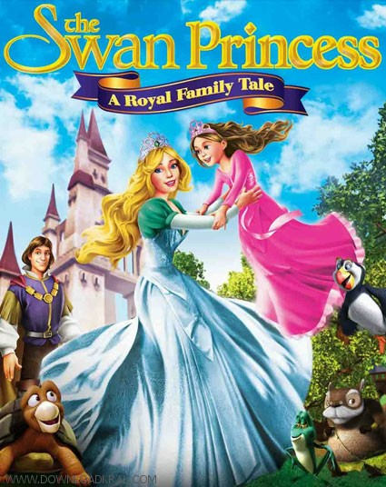 The Swan Princess A Royal Family Tale 2014