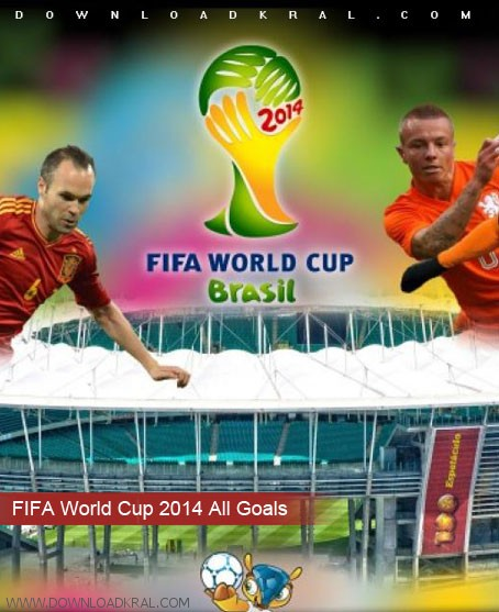 FIFA World Cup 2014 All Goals