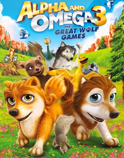 Alpha and Omega 3 The Great Wolf Games 2014 (3)