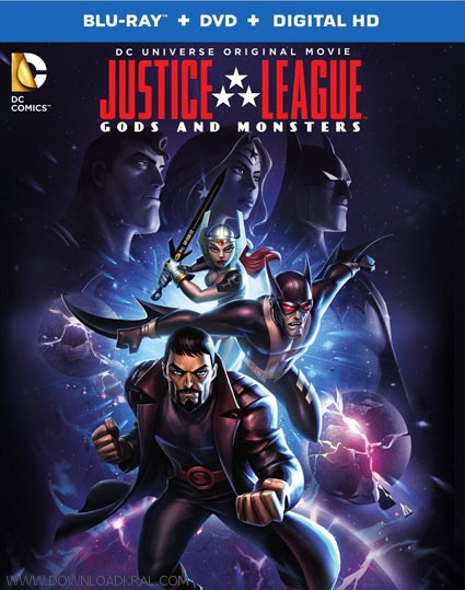 دانلود انیمیشن Justice League Gods and Monsters 2015 (3)