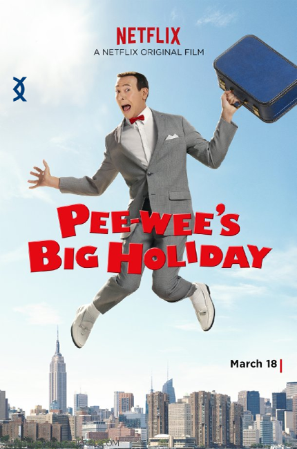 pee-wee-holiday-poster